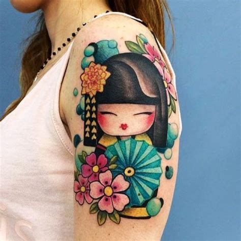 geisha doll tattoo 25 amazing chinese tattoo designs with meanings body art