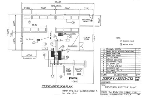 manufacturing floor plan manufacturing floor layout plan