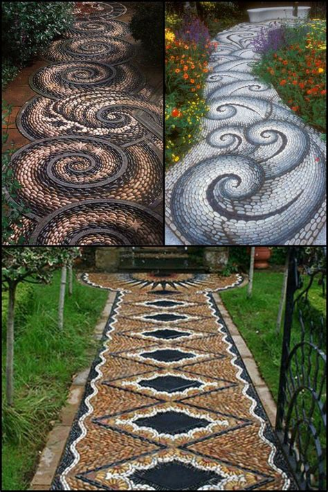 backyard walkway ideas best 20 mosaic walkway ideas on