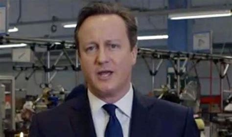 cameron new year message stick with the tories or chaos warns david cameron in