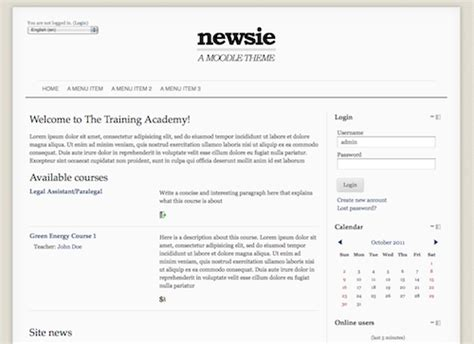 moodle theme per category themes