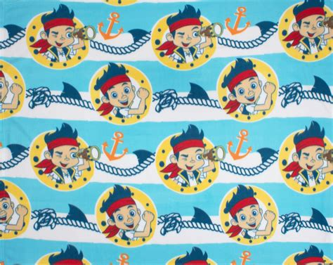 Disney Jake And The Neverland Rug - jake and the neverland sharks fleece blanket