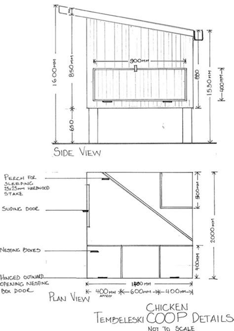 Chook House Plans Chook House Plans House Design Plans