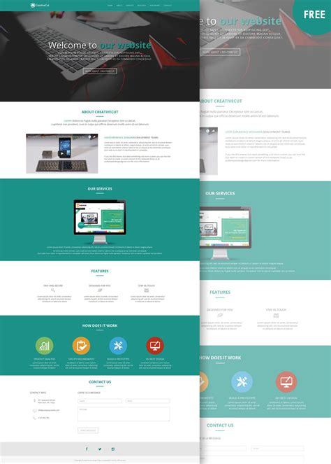 html layout free download website layout archives free website templates download