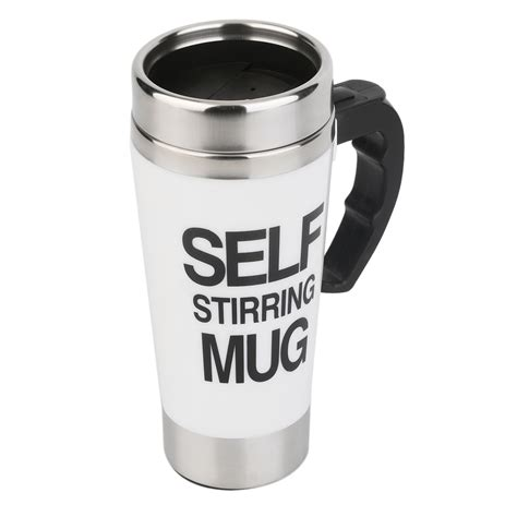 Mug 350ml 350ml stainless steel self stirring mug auto mixing tea