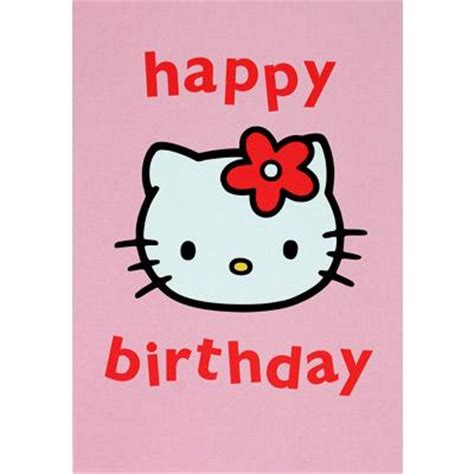 hello kitty printable greeting cards hello kitty birthday clipart best