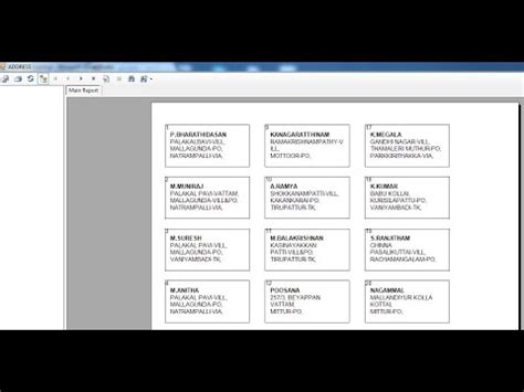 label design in crystal report crystal reports for beginners to create address label or
