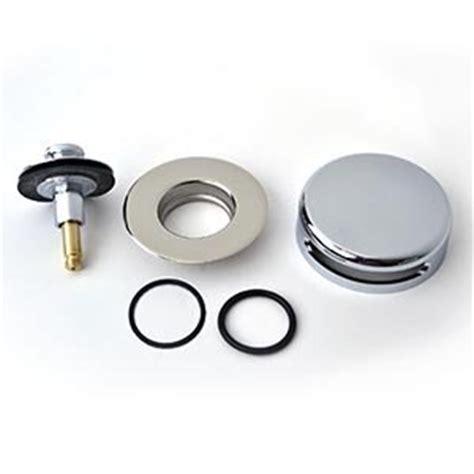 bathtub drain stopper repair amazon com bathtub drain repair watco push pull stopper 939290 quicktrim kit home