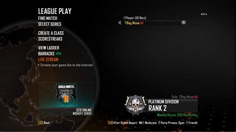 league play overview call of duty world league black ops 2 multiplayer league play divisions the