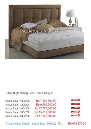 Kasur Bed Di Lung kasur silent harga bed termurah di indonesia