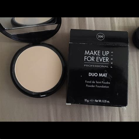 All Mat Makeup Forever makeup forever duo mat powder foundation shade 200