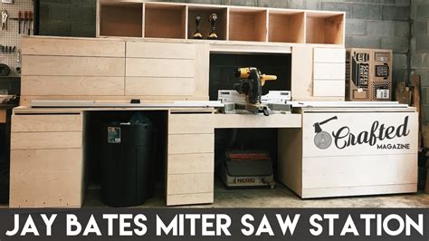 building  jay bates miter  station part  crafted