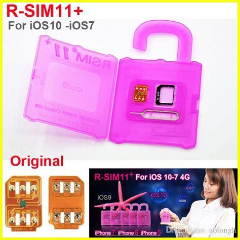 rsim 11 r sim 11 rsim11 r sim11 plus unlock card for iphone 7 iphone 6 unlocked ios 10