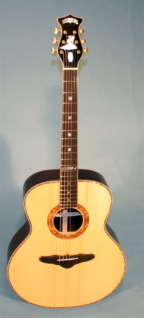 Handcrafted Acoustic Guitars - moonstone guitars handmade custom acoustic electric
