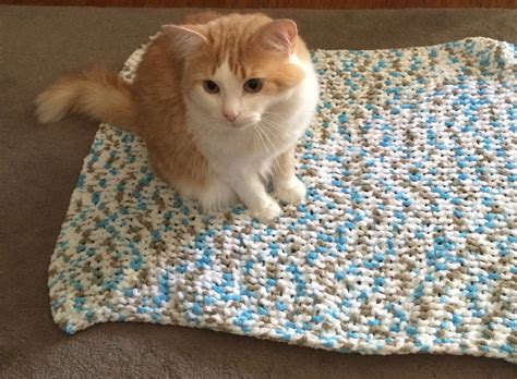 knitted cat blanket pet blanket cat blanket blanket knit by
