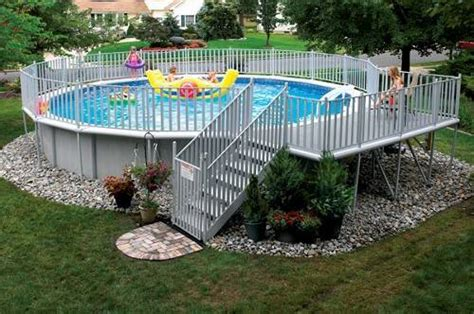 How To Decorate An Above Ground Pool by Make It Yours Above Ground Pool Decorating Ideas