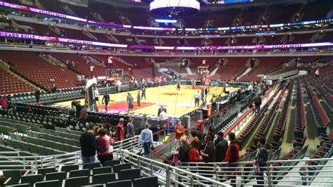 united center section 119 united center section 104 chicago bulls rateyourseats com