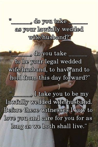 civil ceremony wedding vows ideas 17 best images about wedding ceremony on
