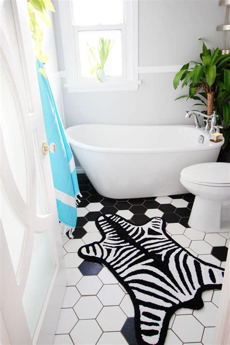 rugs for bathroom floor 13 fascinating zebra bath rug inspiration for you direct divide