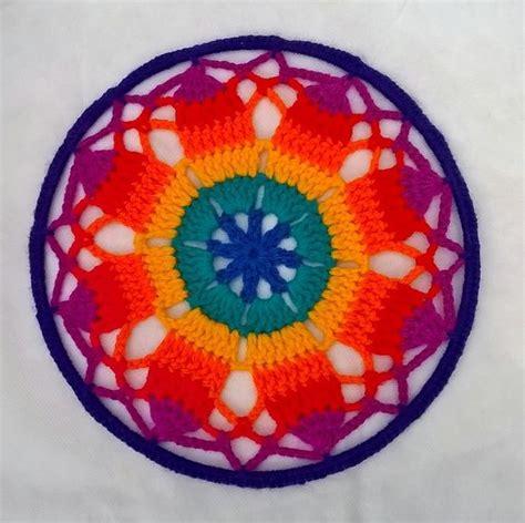 imagenes mandalas tejidas mejores 341 im 225 genes de mandalas crochet y atrapasue 241 os en