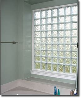 glass block windows in bathroom glass block bathroom windows