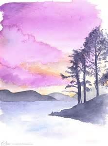 Landscape Artists Watercolor Landscape Watercolor By Stardust On Deviantart