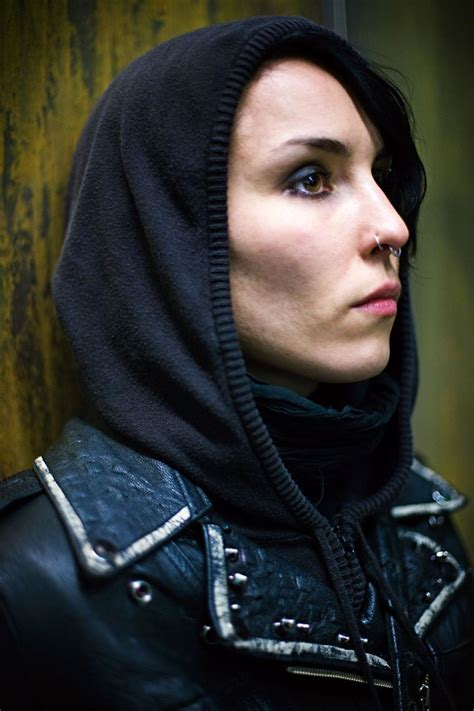 dragon tattoo sequel the with the trilogy noomi rapace as