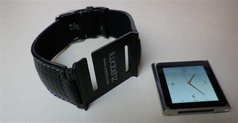 bracelet montre ipod nano iwatchz