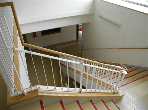 Stair Banister Pictures File Yashima Junior High Stairway Jpg Wikimedia