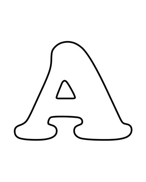preschool coloring pages letter a easy preschool coloring pages