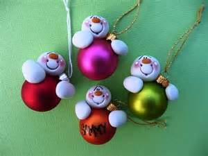 holiday ideas snowman ornaments christmas crafts snowman christmas clay ornaments polymer