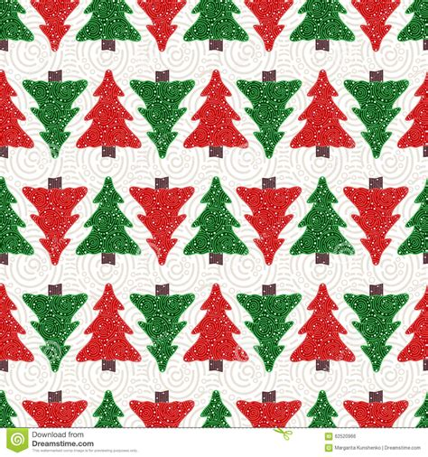 background pattern trees christmas trees pattern stock vector image 62520966