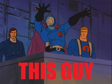 Cobra Commander Meme - a request from 4player podcast help us stop sopa