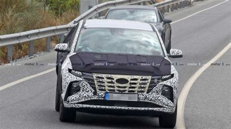when do 2020 hyundai s come out 2021 hyundai tucson spied with less camo to reveal new