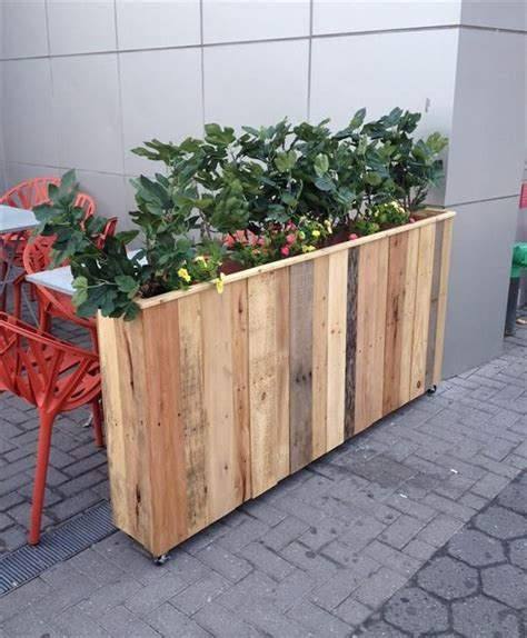 diy planter box best 25 pallet planter box ideas on pinterest