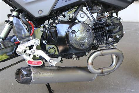 Honda Motorrad Grom by New 2017 Honda Grom Msx 125 Exhaust Systems Released By