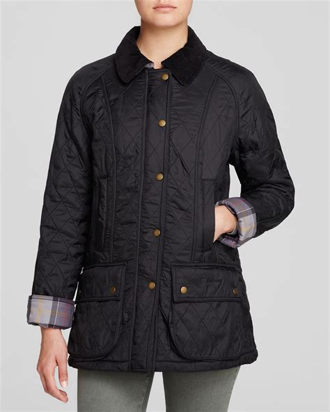 Barbour Quilted Beadnell by Barbour Jacket Beadnell Polar Quilted In Black Lyst