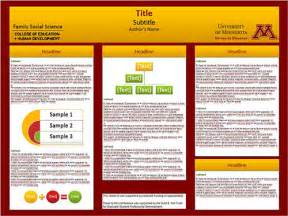 posterpresentations templates professional poster design templates