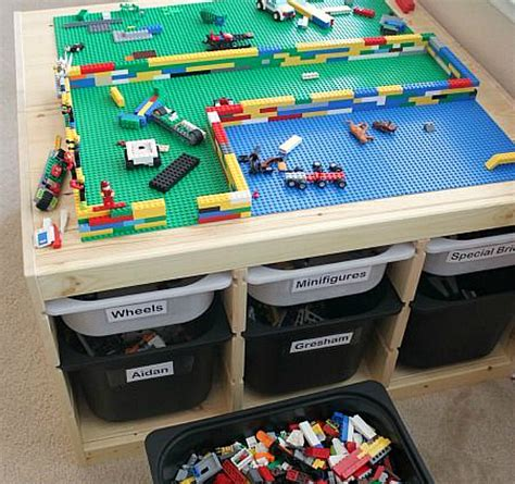 ikea lego table hack 25 best ikea hacks for kids