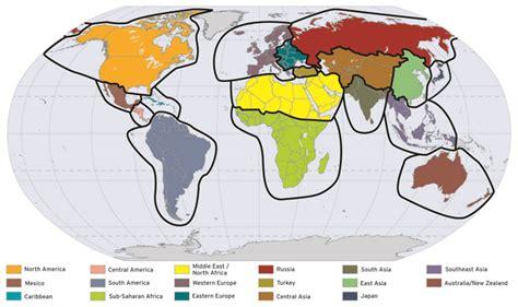 world regions quiz images