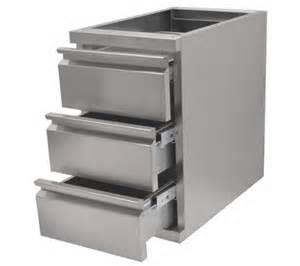 tiroirs inox bloc tiroir et tiroir 224 marc cogenim