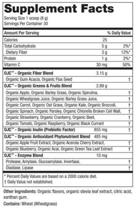 Detox Organics Ingredients by Organic Juice Cleanse Review Buy Ojc Free Trial Bottle