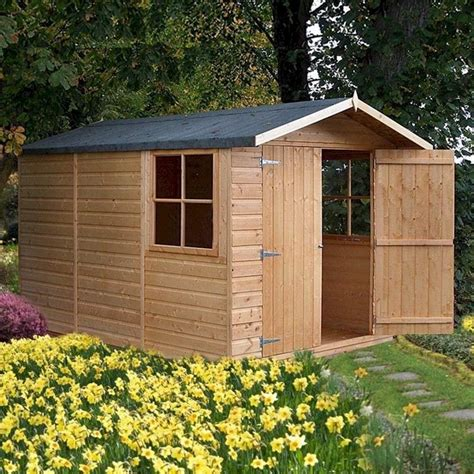 Wooden Garden Sheds 10 X 7 by Shire Guernsey Shiplap Shed 7x10 Garden