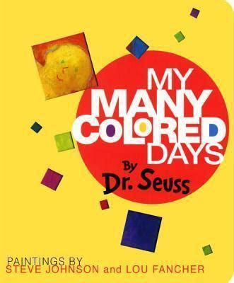 my many coloured days my many colored days dr seuss 9780679893448