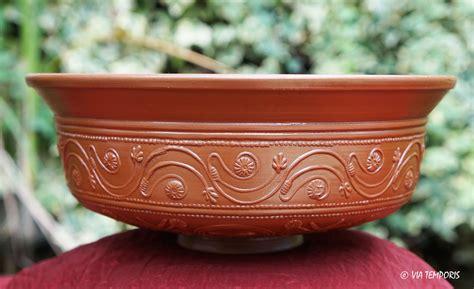 panier 騅ier cuisine ceramique gallo romaine bol sigillee du sud de la gaule