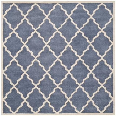 7 foot square rug safavieh chatham grey 7 ft x 7 ft square area rug cht940k 7sq the home depot