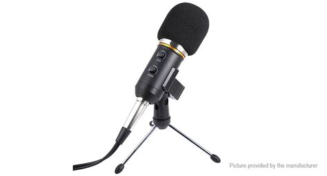 Speaker Fleco F K39 Wired Mic With Usb Tf Card Pla Limited 26 11 mk f200tl 3 5mm audio usb wired condenser microphone w tripod dustproof guard at