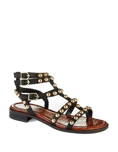 Sandal Studed sam edelman eavan studded gladiator sandals lyst