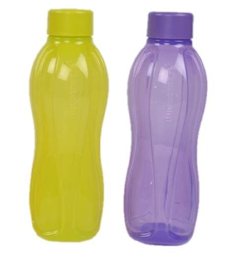 Tupperware Pack tupperware plastic 500 ml water bottle pack of 2 by