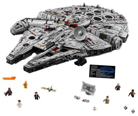 Millenium Set by New Millennium Falcon Is Lego S Set Slashgear